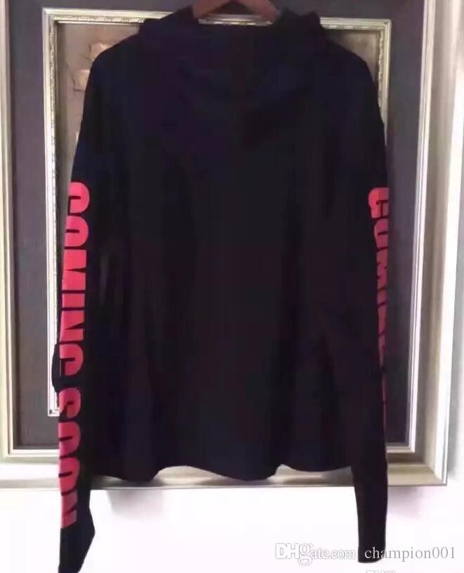 Yeni streetwear hiphop kpop giysi kentsel marka-giyim Titanic vetements siyah boy hoodie kazaklar hoodies hip hop