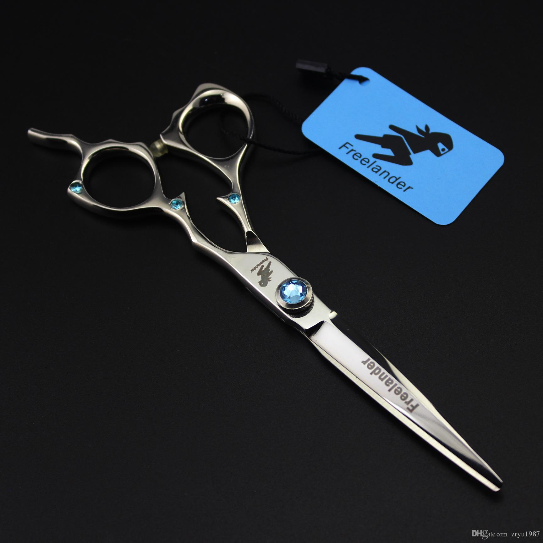 """6.0"""" Professional Hair Scissors Cutting Shears Salon Razor Hairdressing Barber tool with case"""