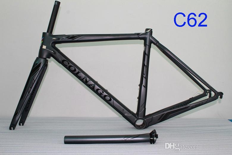 HOT 2018 Colnago c60 carbone vélo de vélo de route Cadre de vélo en carbone intégral Cadre de vélo T1000 en carbone défini 25 Multi couleur