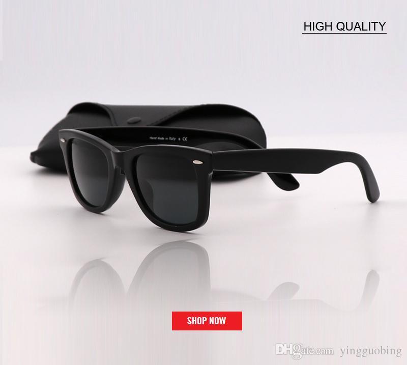 d0a7777fcc brand Design uv protection black len Sunglasses Women Outdoor square  Glasses Luxury Ladies 52mm size gafas UV400 G15 LENS Eyewear for men
