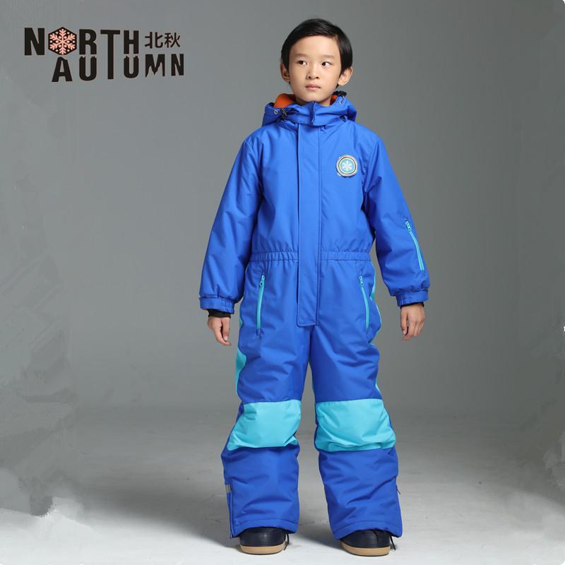 c90fa2cd52c5 2019 Winter Ski Jumpsuit Kids Boys Ski Suit One Piece Snowsuit Suits ...