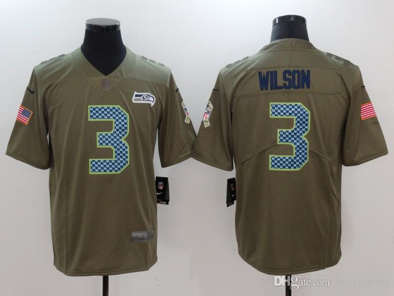 8ef3a658b Russell Wilson Jersey 12th Fan Seahawks Bobby Wagner Tyler Lockett ...