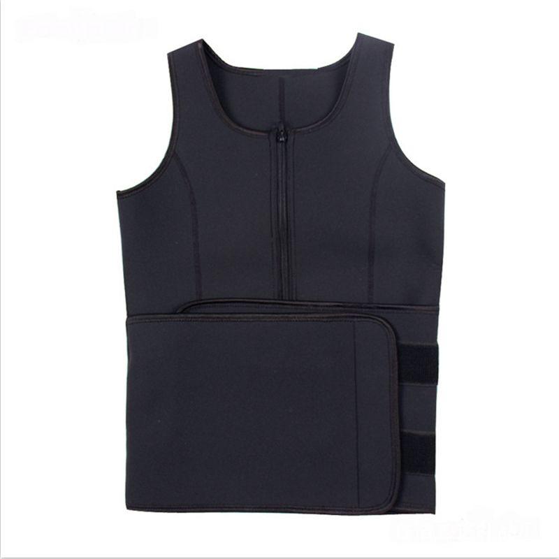 Taille Cincher Sweat Gilet Entraîneur Tummy Girlet Contrôle Corset Corps Shaper pour Femmes Plus Taille S M M L XL XXL 3XL