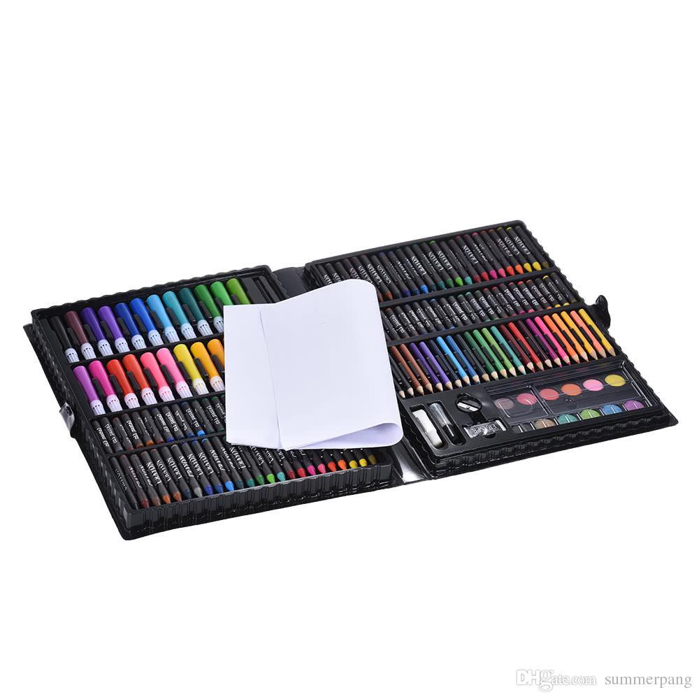 Compre 168 Unids Dibujo Kit De Arte De La Pluma Kit De Dibujo ...
