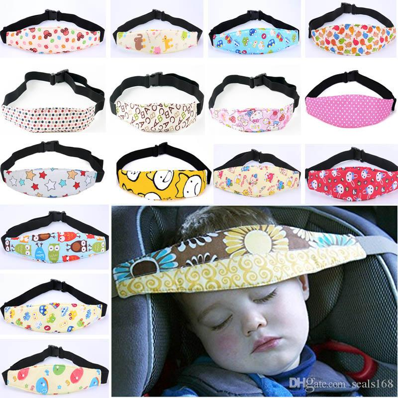 2018 Infant Head Safety Belt Auto Car Seat Support Sleep Holder For Kids Child Baby Sleeping Accessories Care HH7 1242 From Seals168
