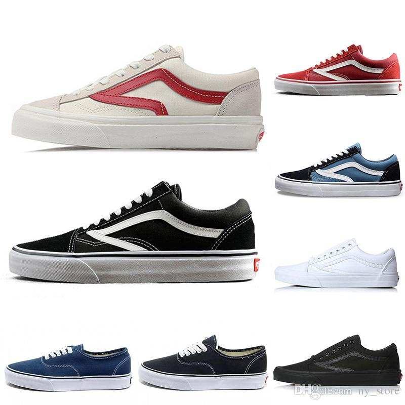 f9468c61ad0 2019 OG Original Brand Old Skool Classic Men Women Canvas Skate ...