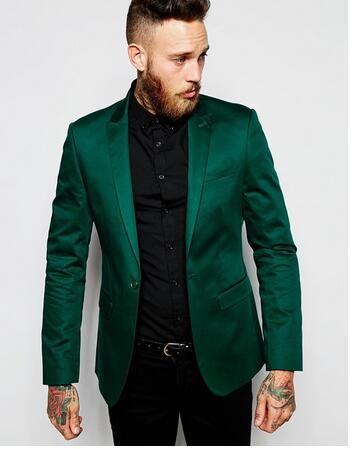 Acheter Nouvelle Arrivée 2019 Costumes Hommes Conception Italienne Vert  Stain Veste Groom Smokings Pour Hommes Costumes De Mariage Pour Hommes  Costume