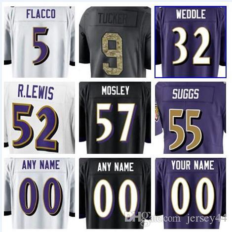 45ffa81a965 Baltimore American Football Jerseys Anthracite Green Olive Salute to ...