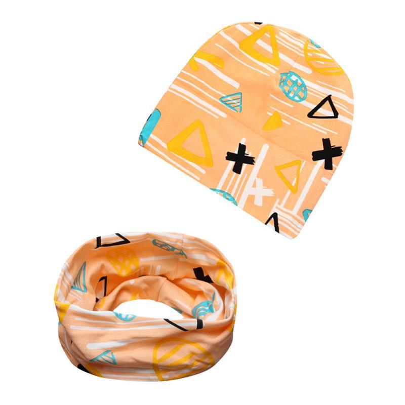 Bebê Chapéu Collar Terno 21 Projetos Outono Inverno Kollmert Menina Menino Cap Crianças Chapéus Criança Chapéu Cachecol Coleiras de Algodão Mistura 3M-6T