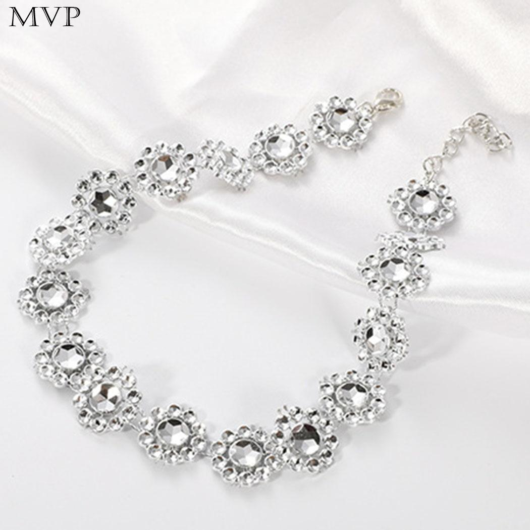 f146363ed 2019 FANALA Crystal Rhinestone Choker Necklace Women Wedding Accessories  Silver Chain Punk Gothic Chokers Jewelry Collier Femme From Ylingnei, ...