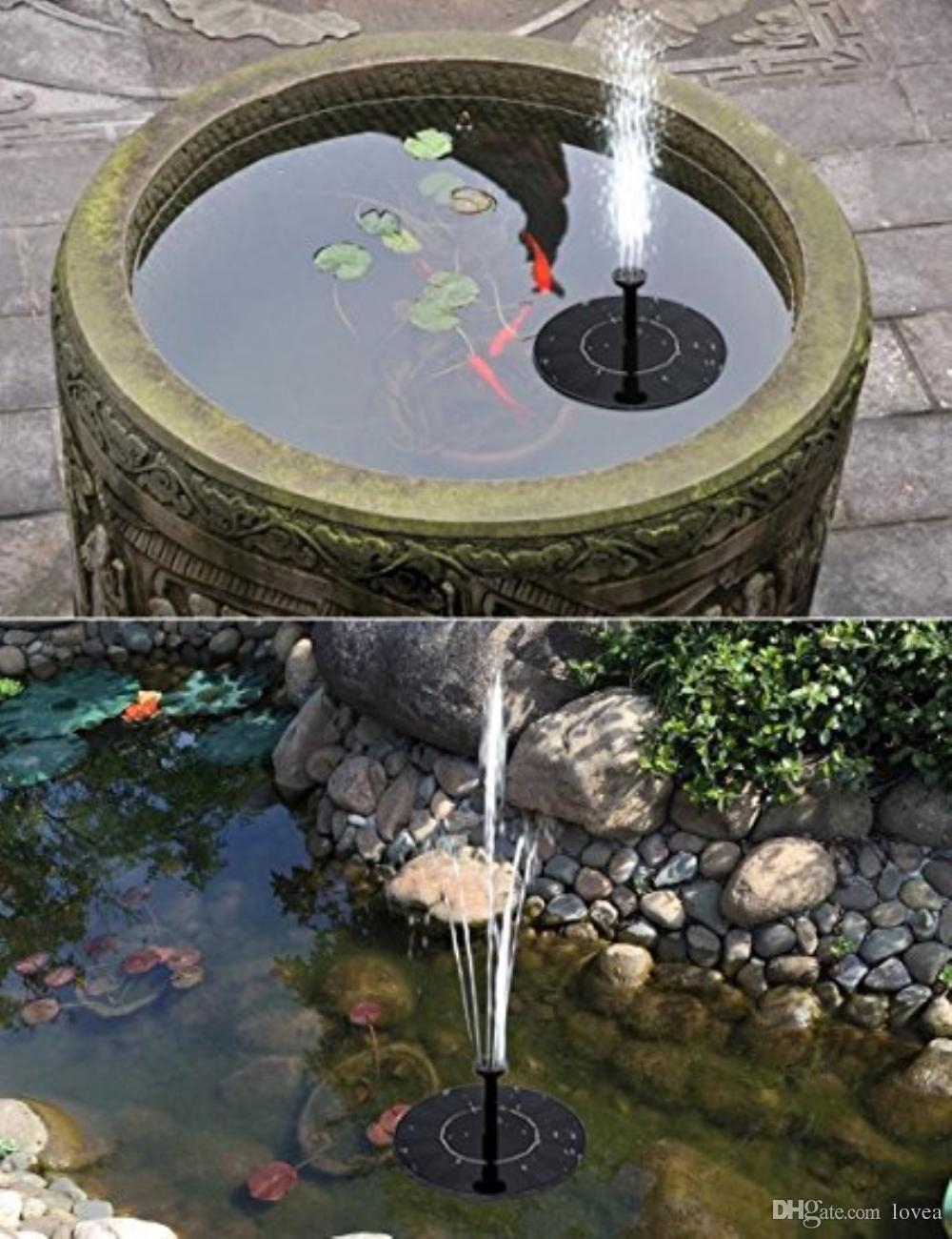 2019 Solar Fountain Pump With Battery Backup 1 5w Upgraded