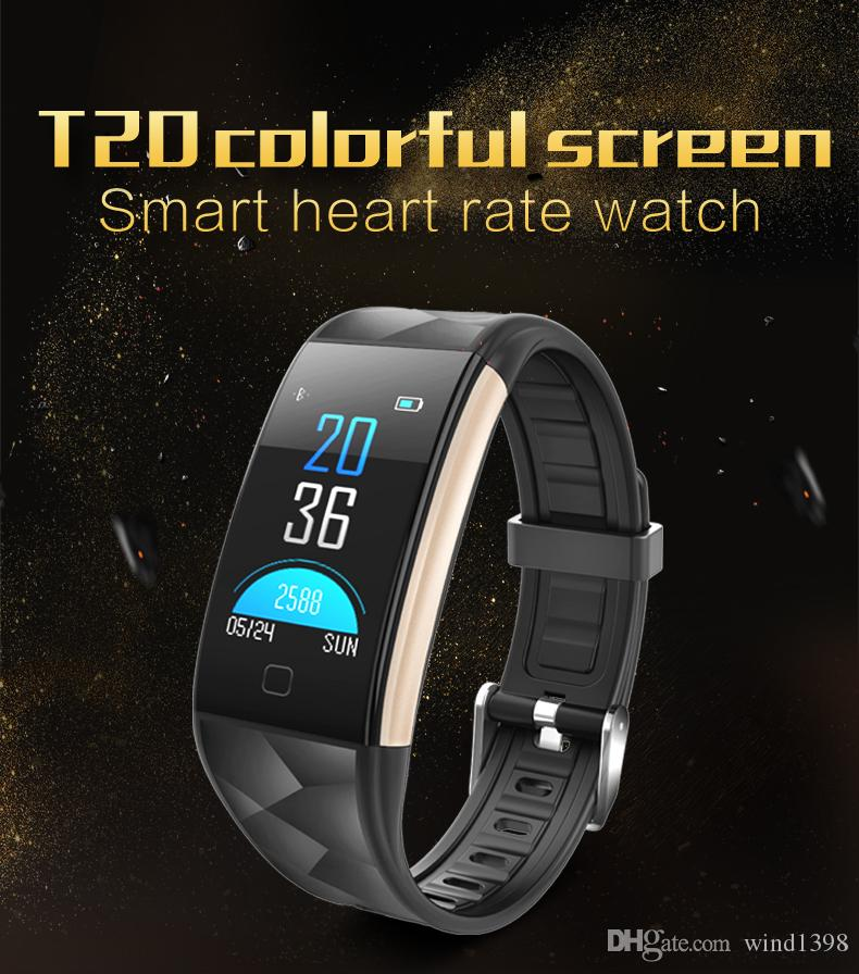 Newest Ttouch Screen Smart Bracelet Bluetooth Heart Rate Monitor