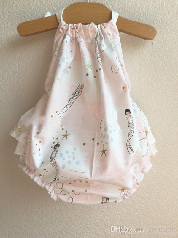 baby romper sunsuit achor print boho playsuit summer baby's fashion clothes outwear onesies sunsuit infant cute jumpsuit