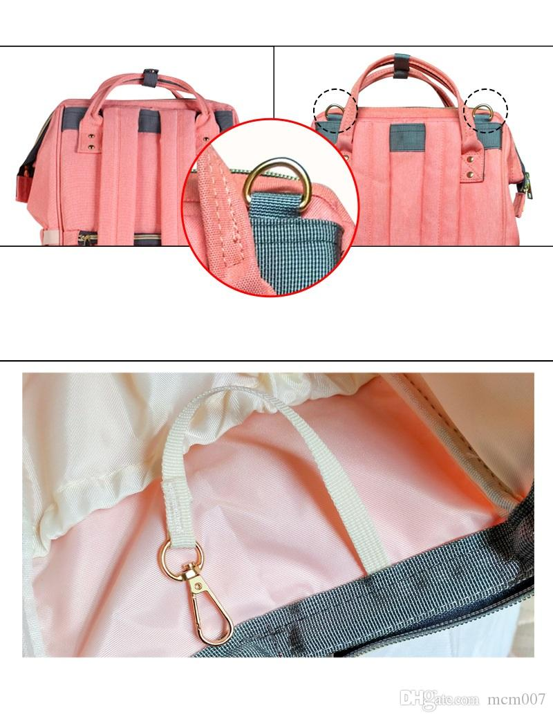 Mommy Baby Diaper Bag Travel Backpack Handbag High-capacity Option Nappies Mother Bags Keep Warm For Feeding Bottle
