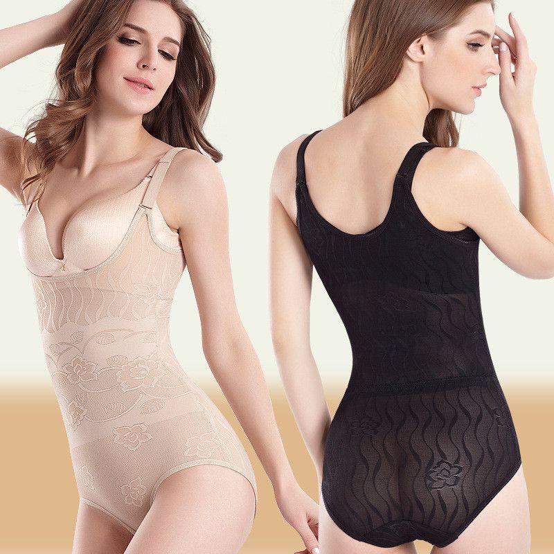 19eb66be5333c Thin Body Shaper Women Slimming Shapewear Elastic Adjustable Waist ...