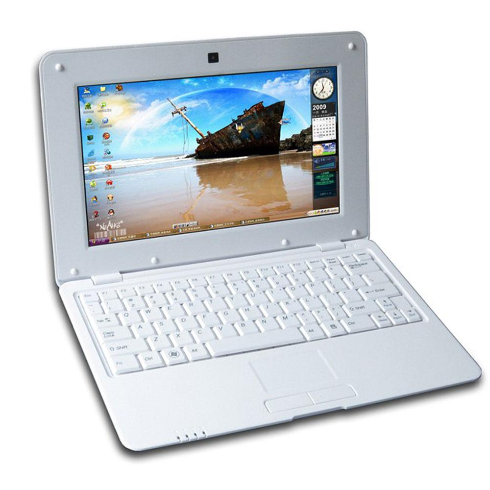 10.1 Inch Original Quad Core notebook Android laptop HDMI Laptop Android 5.1 7029 Quad Core 1.5GHZ Wi-fi Bluetooth Mini Netbook