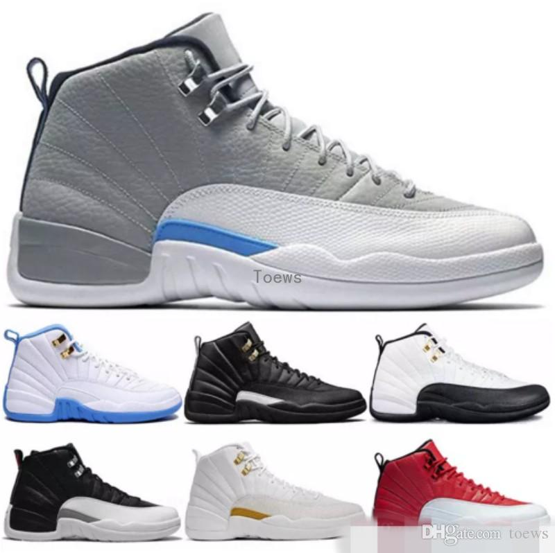 huge selection of 75df8 7c477 2018 New 12s shoes Basketball Shoes For Men Sport Shoe 12s Athletic  Trainers Sneakers size 41-47