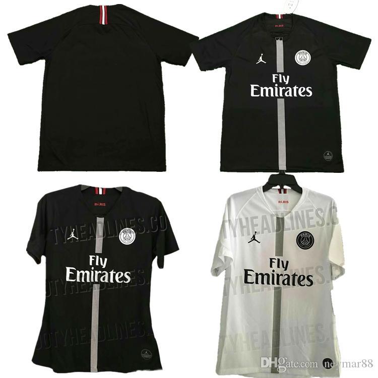 Compre 2018 2019 Novo Jerseys Psg 2018 2019 Paris Jordam Treino Casa Longe  Camisa De Futebol Branco Branco CAVANI Camisas De Futebol MBAPPE Maillot De  Pé De ... d50f8d133771e