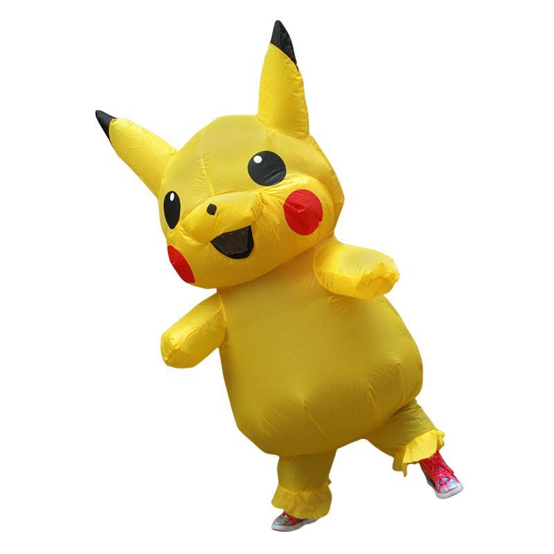Easter Day Dress Halloween costume Mascot Inflatable Pikachu Adult Kids costumes Fancy Dress disfraces adultos Kid LJ-030