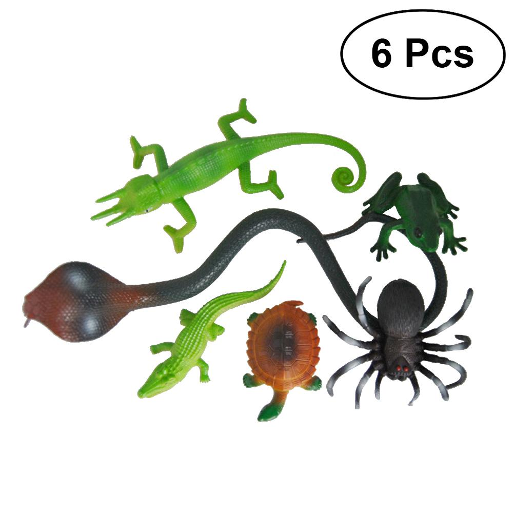 2019 Plastic Non Toxic Realistic Animal Toys Halloween Party Favors