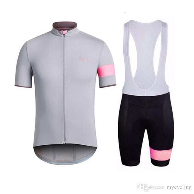 2018 Pro team Rapha Cycling Jersey Ropa ciclismo ciclismo da strada abbigliamento da ciclismo abbigliamento Estate manica corta camicia da equitazione F2744