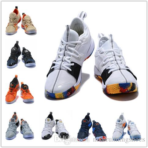 3a9a1aff8e02 2018 Lights UP PG 2 PlayStation Taurus Road Master Basketball Shoes ...