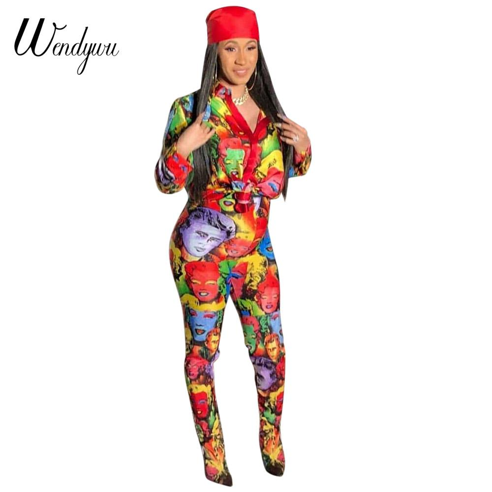 8da33b5dc516 Wendywu Sexy Jumpsuit Monroe Printing Bodycon Long Pants Party Female  Overalls Outfits Rompers Womens Jumpsuits Jumpsuits Cheap Jumpsuits Wendywu  Sexy ...