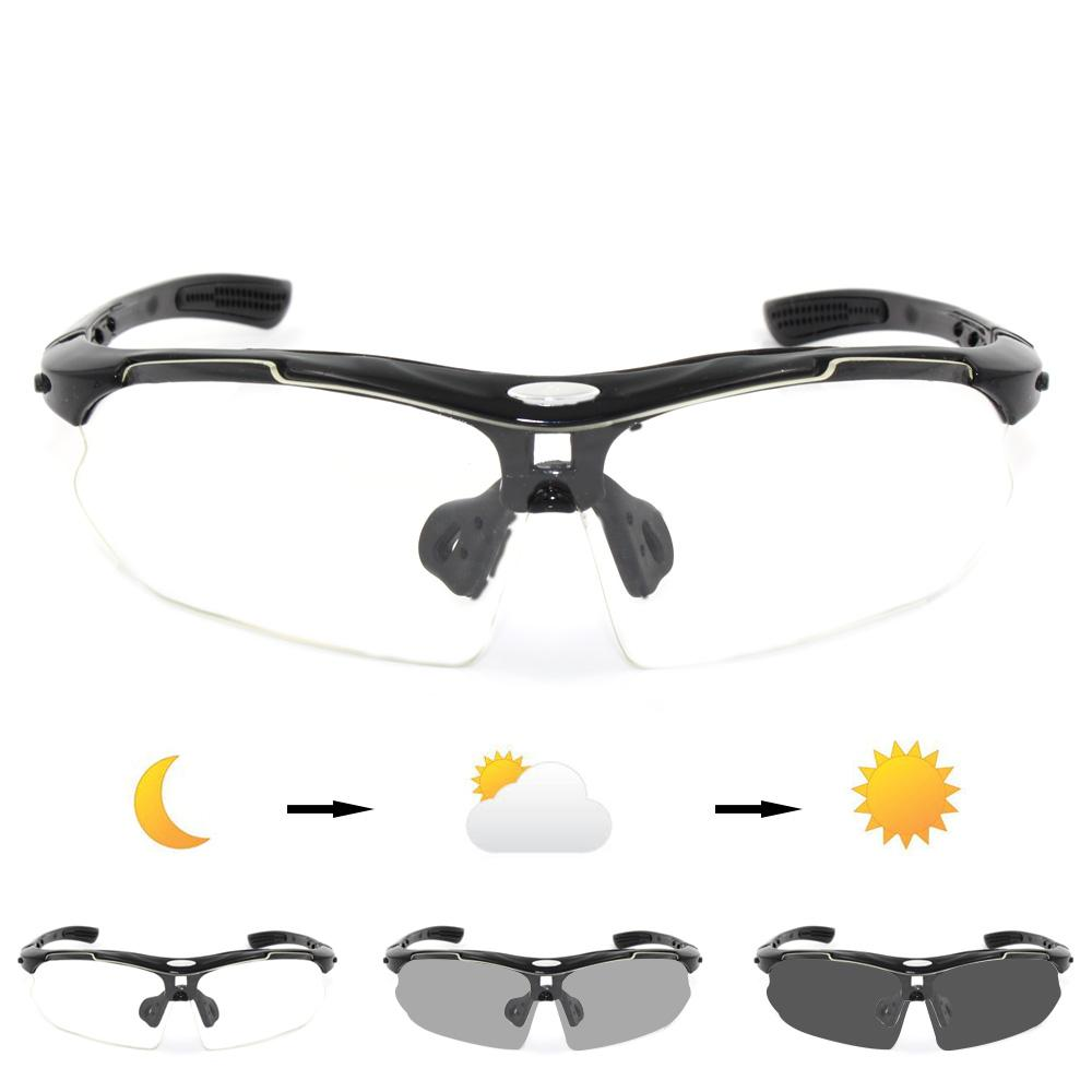 3fe2be83984 New Photochromic Cycling Bicycle Bike Glasses Outdoor Sports Mtb ...