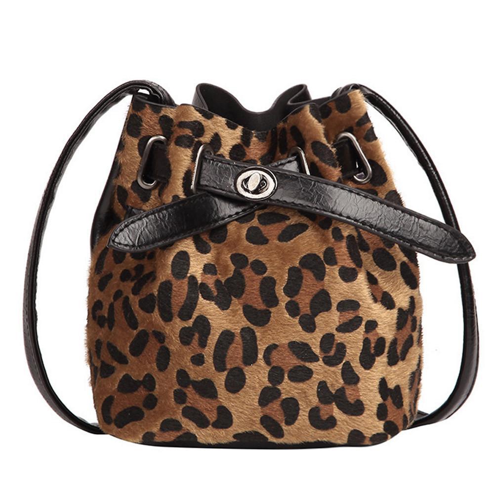 7af61606af7 Women Plush Leopard Messenger Bags Print High Quality Shoulder Cross Body  Bag Bucket Main Flap Cross Body Bags Bolsos Mujer A40 Shoulder Bags Cheap  Shoulder ...