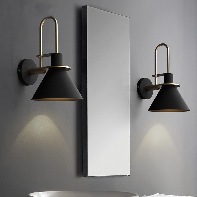 2019 new nordic wall lamp bedside lamp bedroom modern living room
