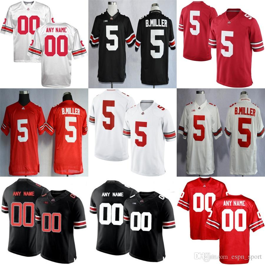 online store 114e9 cbe58 Black Ohio State Youth Football Jersey | RLDM