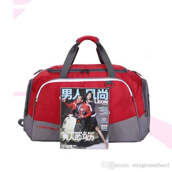 9d954064bed1 New Wholesale Travel Bags Men And Women Handbag Large-capacity Sports  Duffel Bag Casual Short Travel Bag Fitness Handbag Duffel Bags Fitness  Handbag Online ...