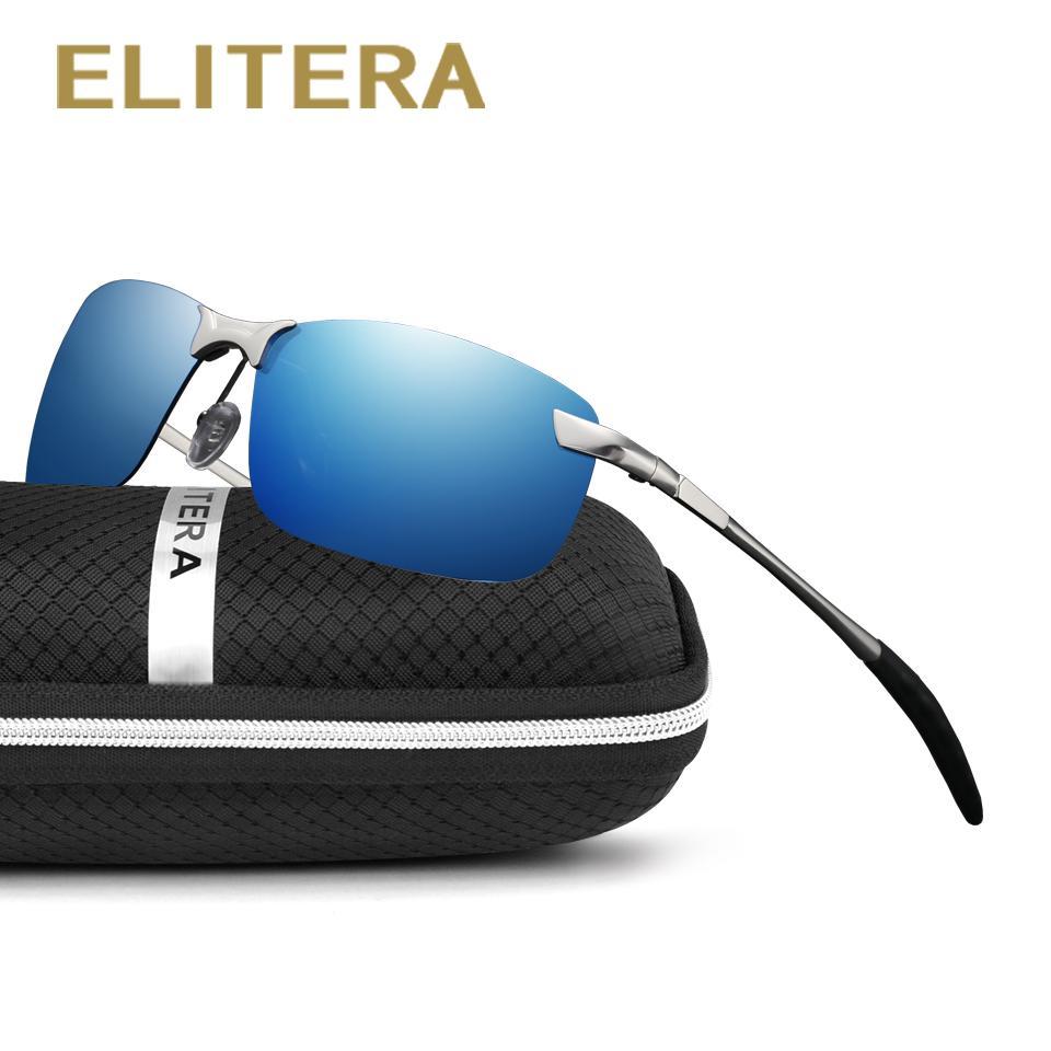 7a0742e6e6 ELITERA New Brand Men Polarized Sunglasses Sports Men Color Film Driving  Sun Glasses Oculos Eyewear Accessories Wholesale Prescription Glasses  Sunglass From ...