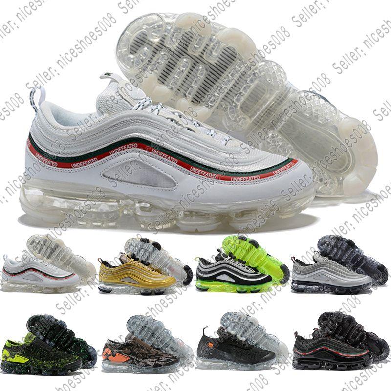 size 40 c7db2 a50d2 Nike Air Max Vapormax Descuento De La Marca Nuevo 97 Hombres Corriendo  Zapatos Japón Plata Oro Bala Triple Blanco Negro Para Mujer Para Hombre  Deportes ...