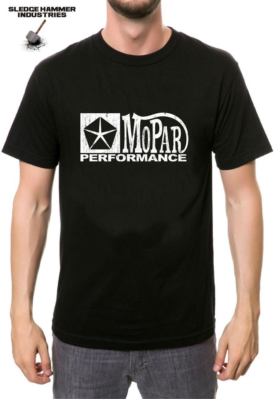 MOPAR PERFORMANCE LOGO T shirt VALIANT T SHIRT, MOPAR, HEMI,CHRYSLER,  MUSCLE CAR