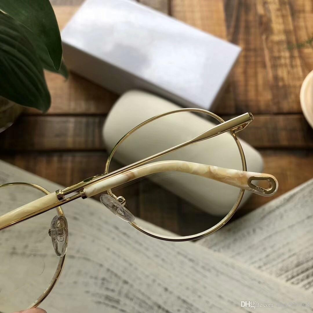 New eyeglasses frame Spectacle Frame eyeglasses for Men Women Myopia Brand Dsigner Glasses frame clear lens Fashion luxury glasses CE2136