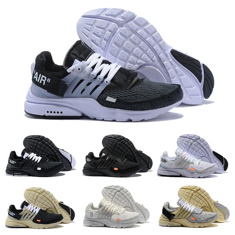 Nuove scarpe da corsa snodate bianco caldo presto triple runner da uomo di colore nero Sneakers da donna beige grigio migliori scarpe da ginnastica