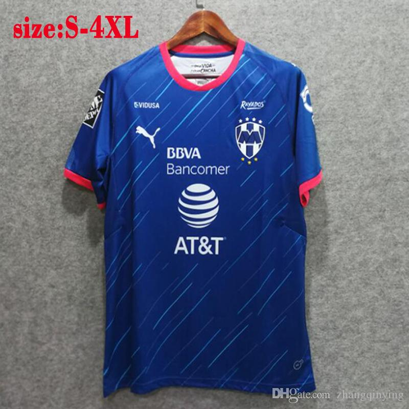 new style 216b0 81eaf New 2019 CF monterrey jersey Home Away soccer shirt 18 19 liga mx Mexico  League Monterrey camisetas de futbol
