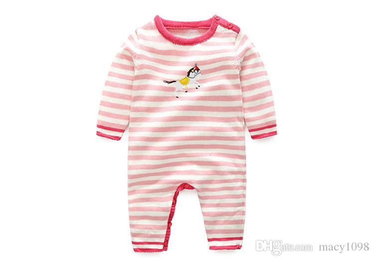 Girls' Clothing (0-24 Months) Cute Christmas Penguin Baby Girls Festive Xmas Long Sleeve Babygrow Playsuit