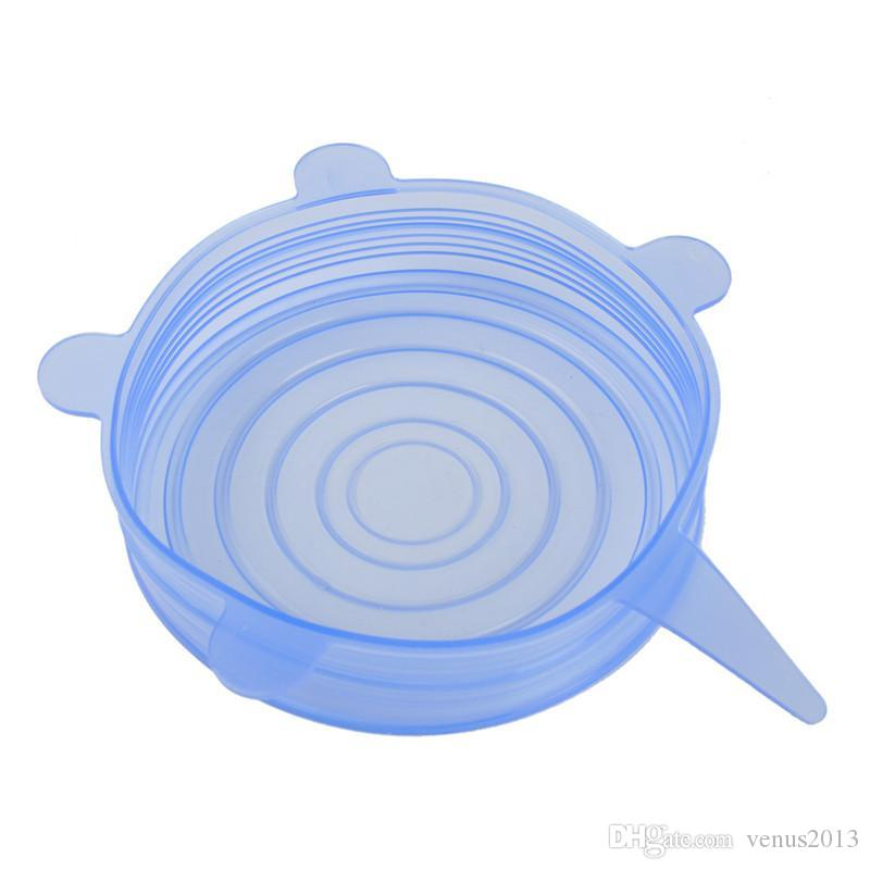 New Arrive Universal Silicone Suction Lid-bowl pan cooking pot lid-silicon stretch lids silicone cover kitchen pan spill lid stopper cover