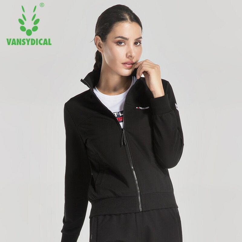Hiver Fitness Femmes Respirant Automne Zipper Vansydical Sportswear Veste Running Tops Vêtements Xxl Yoga Formation 5wIcZpqqX