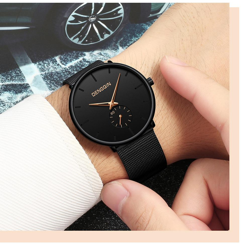 Compre Moda De Cuero Analógico Quarts Relojes Reloj De Pulsera Deportivo  2018 Relojes Para Hombre De Primeras Marcas Dengqin Lujo Reloj Casual Reloj  Pt4 A ... 06ca02573c2b