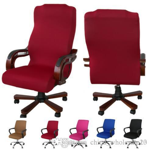 Factory Direct Smooth Elastic Polyester Computer Chair Office Chair