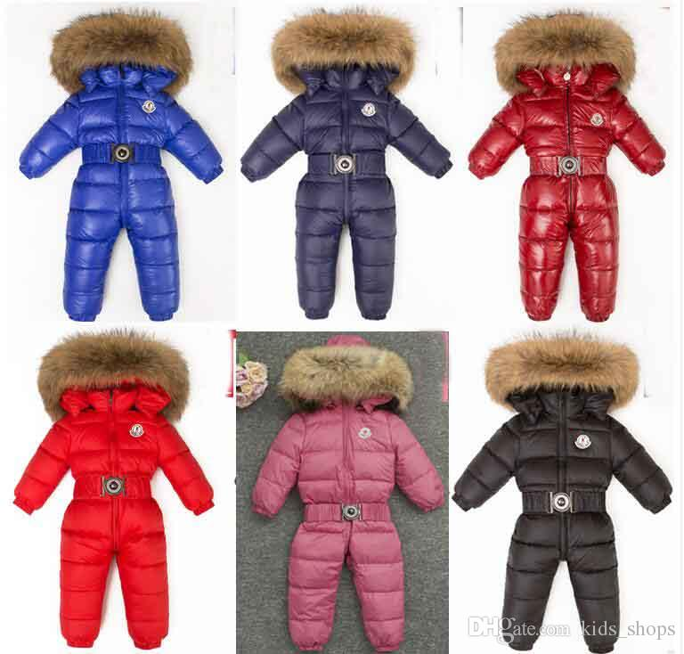 3cc0b17dd664 Russia Winter Baby Girl Jumpsuits Baby Clothing