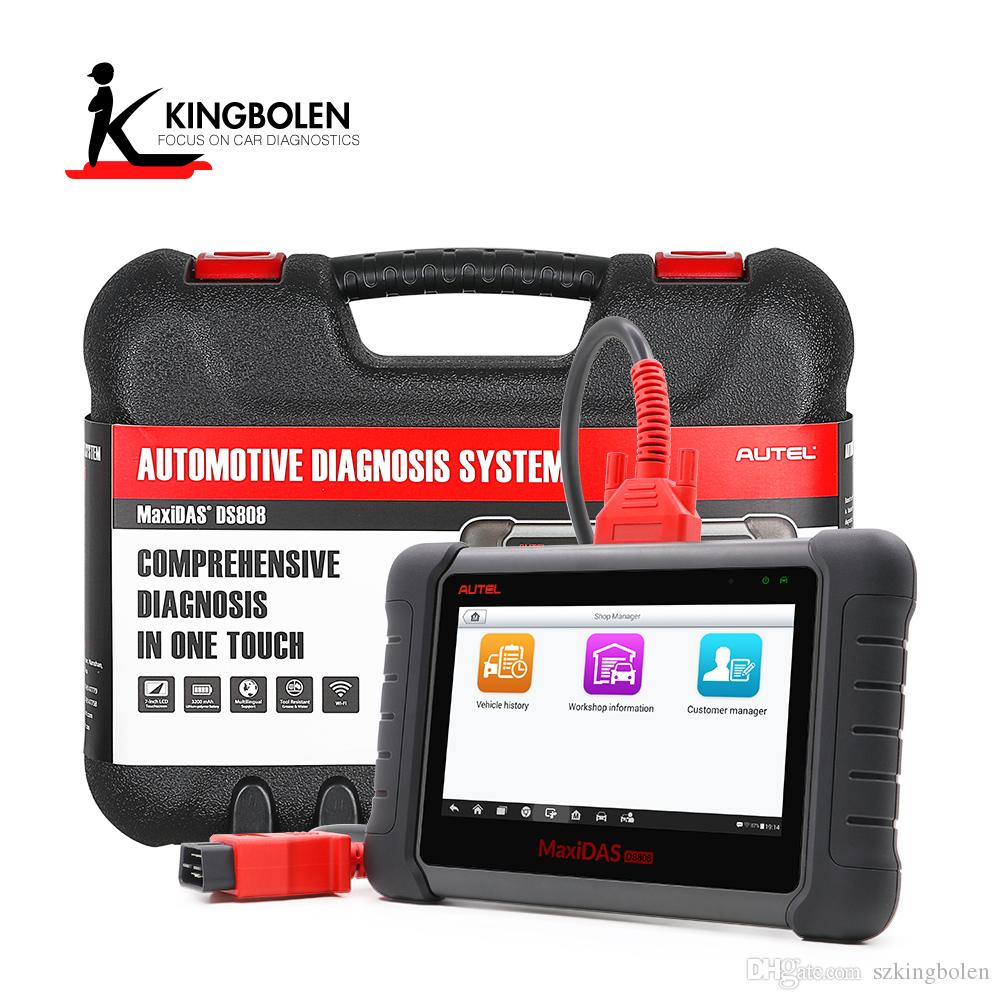 AUTEL MaxiDAS DS808 ALL system Diagnostic Tool Support Injector & Key  Coding Better Than Autel Maxidas DS708 Full System Diagnosis Scanner