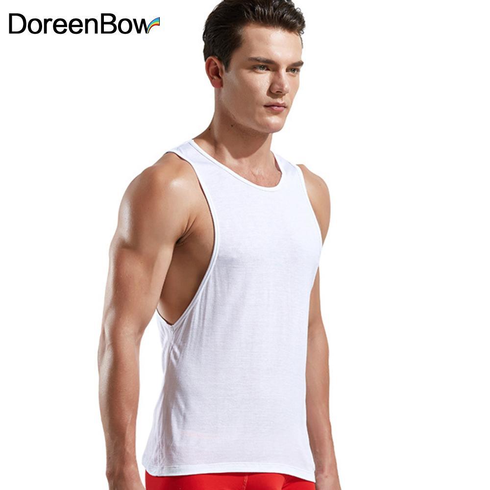 Mens Acquista Sleeveless New Canotte Vest All'ingrosso Doreenbow XuOkiZP