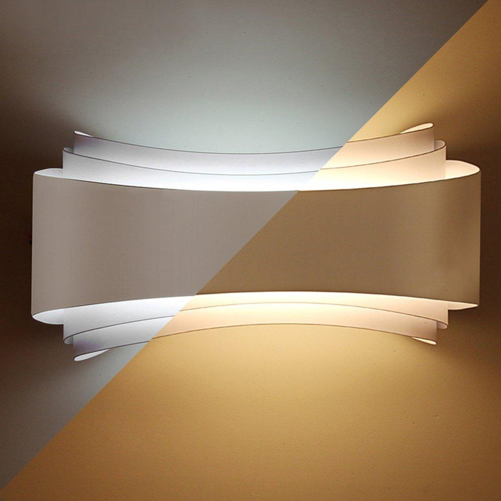 2019 modern minimalism led wall lights hotel living room aisle bedside wall lamps unique design long lifespan lighting fixtures from goddard