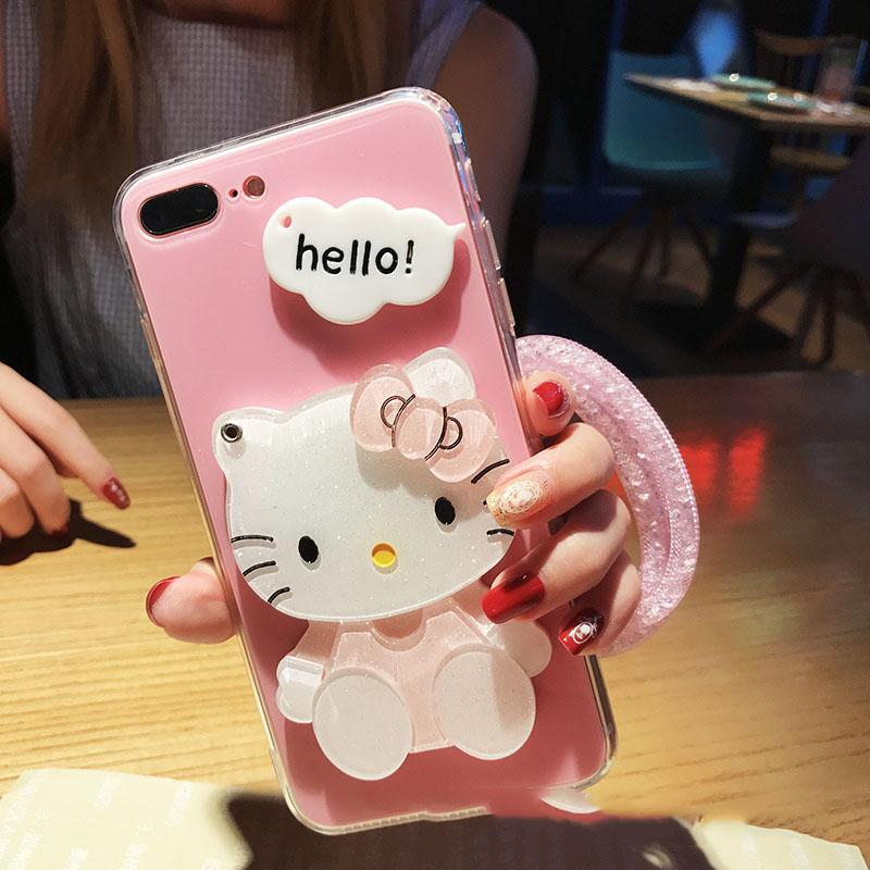 Women Fashion Phone Case for IPhone X 6/6S 6plus/6S Plus 7/8 7plus/8plus 2018 New Arrival Hot Sale Lovely Carton Iphone Case 6 Styles