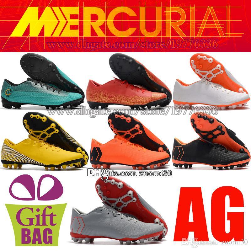 Xii Enfants En Pour De Football CuirNeymar Vapor Académie Chaussures Cr7 AgMercurial LzVqSpjUGM