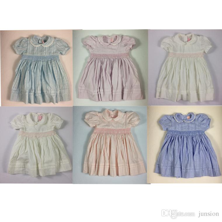 c2bdfd0ad71f 2019 2018 Girls Dresses Lovely Baby Girls New Dress Casual Party Dresses  Bohemian Princess For 2 6 Years Kids Dress Fast Shipping From Junsion